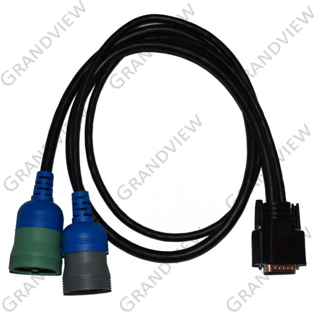 Deutsch Green 9 and 6 Pin Y Cable (GES050C)